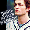edward: there's no crying in baseball!