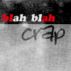 [Misc] Text - blah blah crap
