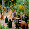elves & hobbits, elves, Rivendell farewell