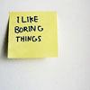 wintergreen: boring things