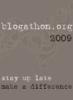 Blogathon'09