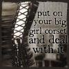 big girl corset