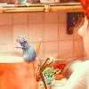 Ratatouille on pot edge