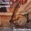 AN ENIGMA GAVE A PARADOX A VERY SPECIAL HUG: power in creation