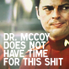 No time for this McCoy