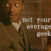 hardison- not the average geek