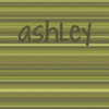 ashley green stripe