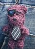 bear alena romanenko key ring breloque