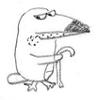 небритая птиса