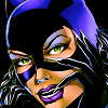 Catwoman close up