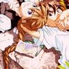 anime - gwing - heero&duo - floor