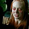 Jessica - bloody eyes