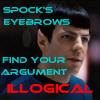 Spock's eyebrows