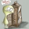 Taste Your CHOCOLATE MILK... ❤miaow~