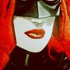 batwoman: mask on