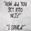 Morgan: I smiled