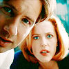 Morgan: mulder and scully look
