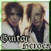 Aoi Uruha Guitar Heroes the gazette