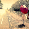 Stock - Pink Umbrella