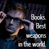 DW Books are the Best Weapons by Pirogoe