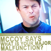 sleepygoof8784: McCoy malfunction