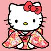 Kimono Hello Kitty by hobbitholes