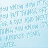 Nelly: text: dw - a hundred years later
