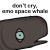 chandlershaw: emo space whale