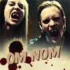 Pam & Eric - True Blood - Om nom