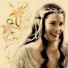 Arwen happy