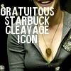 thrace_adams: BSG Starbuck Cleavage