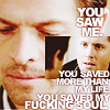 the female ghost of tom joad: supernatural castiel > ruby btw
