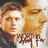 The Large Purple Weed: Dean/Castiel - worth dying for