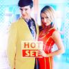 the mcroxoring jingle jangle: Ugly Betty: Marc/Amanda - Hot Set