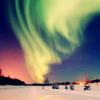 k: [random] northern lights