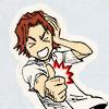 Asano Keigo: thumbs up