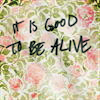 Indigo Blue: life is pretty good