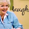 rose laughs