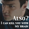 autumn: kill you with my brain!