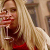 House - Amber drinking