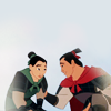 disney » fighting! (mulan)