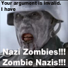 Die, die Geräusche macht: i have nazi zombies!