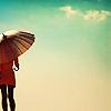 People» Girl» Umbrella