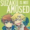 Code Geass: Suzaku Is Not Amused