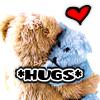 Offbeat and upbeat: Hugs