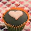 heart cupcake