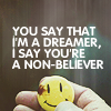 Non believer