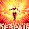 marvel - phoenix love me and despair