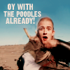 face up and SING: Oy With the Poodles Already! (Legolas)