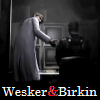 William Birkin & Albert Wesker